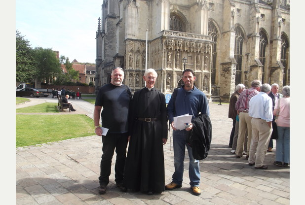 Pilgrim Fathers: walking for alienated children everywhere